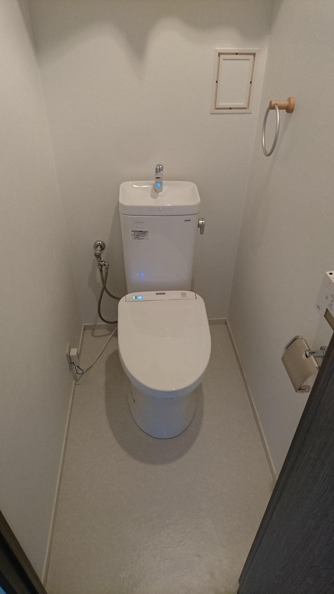 TOTOマンションリフォームトイレ